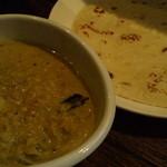 パウラ - お豆のカレー&パラタ