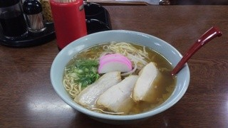 赤井食堂 - 2013年8月 ラーメン大盛り(500円)