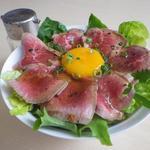 プレミアムサフォークダイニング シズオ - サフォークたたきのシャキシャキ丼