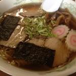 永井食堂 - チャーシュー麺、卵入れ忘れ