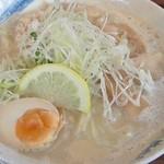 麺や ようか - 濃厚鶏しおらーめん(700円)+麺大盛り(20円)