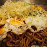 神戸六甲道・ぎゅんた - 焼きそばアップ