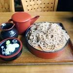 藤乃家 そば店 - 料理写真:大盛りそば 600円