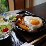 京乃ちりめん山椒 毬りん - 鉄板つくね定食 おすすめNO1