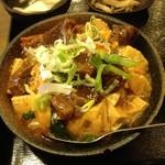 上海亭 - 日替わりランチ肉豆腐