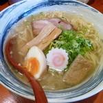 ひのき屋 - 冷た~い煮干し塩中華そば(H25.8.6)