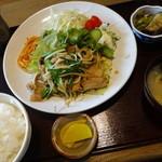 食空間 穂の里 - 生姜焼き