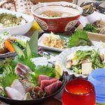 """海人の家 - 「ぬちぐすい」とは沖縄弁で""""命の薬""""という意味。沖縄の雰囲気とぬちぐすいを存分にご堪能下さい!"""