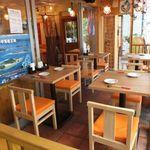 海人の家 - 人気のオープンテラスのお席