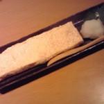 四季酒菜 風土 - 帆立風味の出汁巻玉子