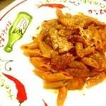 ピザシティーズ - 辛さが美味しい『ペンネアラビアータ』