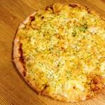 ピザシティーズ - シンプルピザの『ダブルコーンミックス』