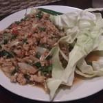 タイ料理JUMPEE - ・プーケット風ラープガイ