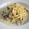 ミラノ・サローネ - 料理写真:ポルチーニ・長野県産きのこのクリームパスタ~☆(パスタはリングイーネをチョイス)