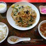中国料理 随苑 - 料理写真:豚肉あんかけ焼そば(780円)