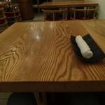 HIGASHIYA GINZA - テーブルセッティング