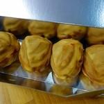 小布施 味麓庵 - 福栗焼と福栗りんご