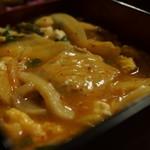 居酒屋 燔 - 豚キムチ卵豆腐炒め