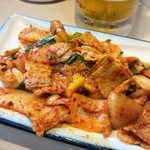 寿海千丸店 - 豚キムチ