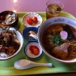 こま食堂 - 料理写真:ラーメンランチ(Cセット)