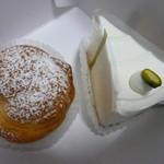 フリューリング - こちらは娘にお土産。。シュークリームとレアチーズケーキは¥300