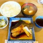 大衆割烹 三州屋 - 銀むつ照焼定食¥980 2013.8.6