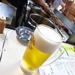 やまちゃん - キリン一番搾り(ジョッキ)500円