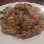 タイ料理 ブアールアン - ・辛味噌シーフードチャーハン 950円