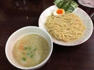 藤丸 - 「塩つけ麺 小盛り半玉子つき」700円