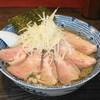麺心 國もと - 料理写真:2013.8 塩ラーメン(700円)+低温チャーシュー(250円)+大盛り(半玉50円)