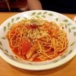 20499903 - フレッシュトマトのスパゲッティ  ¥499-