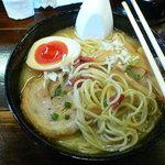 中華そば ことぶきや - 自家製麺@食事中