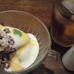 menu - スエーデン風りんごのデザート