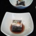 20502011 - シマウマごま豆腐(お通し)