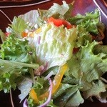 Pastorante OHANA - ランチのサラダ