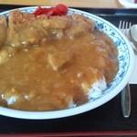 満腹食堂 - カツカレー 750円