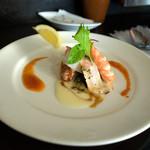 20504305 - アンティーパストランチ「海の幸のマリネ」。最初から嬉しくなっちゃうようなお料理。
