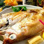 田村 - 料理写真:脂がのった身には極上の旨味とコクが特徴の北陸の高級魚「のど黒」を一夜干しや塩焼きでご堪能ください