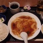 華膳 - フカヒレ玉子焼¥500