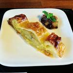 あめいろcafe - アップルパイ