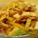 げんこつ屋 - 生姜焼き丼(セットメニュー)