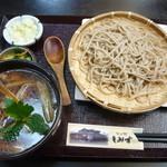 20507136 - 鴨汁そば(1,350円)_2013年8月