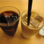 2051326 - アイスコーヒーとアイスカフェオレ