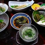 東海林 - 5000円の山菜中心のコース