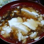東海林 - 豆腐のあんかけ