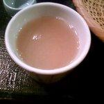あずみ - 蕎麦湯2