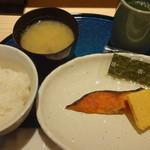まぐろ一代 - 焼き魚定食:450円