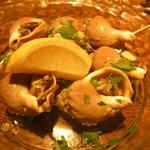 ミナミ - つぶ貝の白ワイン蒸し