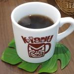 KIANU - 紅茶《アールグレイ/Hot》(単品で\400、パンケーキ注文の方は-\100、2013年7月)