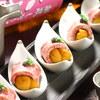 海鮮料理 雲丹しゃぶしゃぶ 工藤 - 料理写真:神戸和牛ウニ巻きキャビア添え